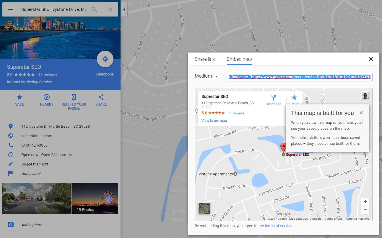 how to rank higher on google maps 2019