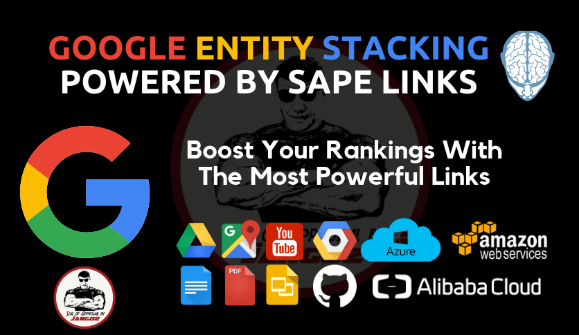 Google Entity Stacking Powered By SAPE Links
