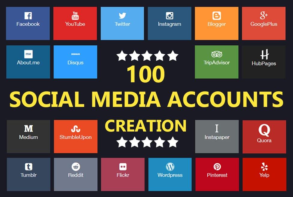 best social media account creation service on Legiit