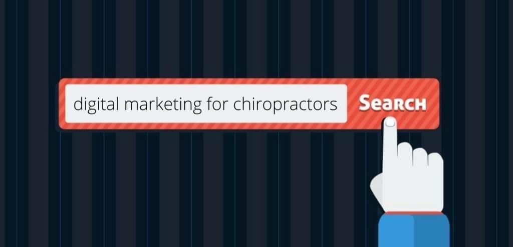 digital marketing for chiropractors