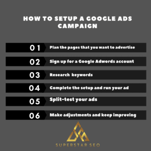 How to setup a google ads campaign
