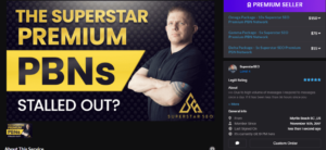 SuperstarSEO PBNs/Private blog network
